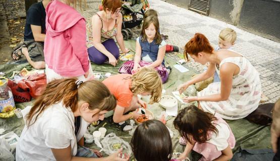 Živé děti – lesoparkový dětský klub